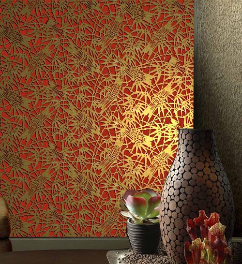 Photos bild galeria papier peint japonais - Papier peint style japonais ...